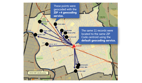 Melissa's ZIP+4 Geocoding give you the accuracy to an area of about 10-20 households.