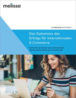 Cover des Whitepapers Das Geheimnis des Erfolgs für internationalen E-Commerce