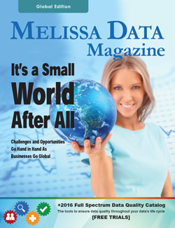 Catalog - Melissa Data Magazine - Global Edition