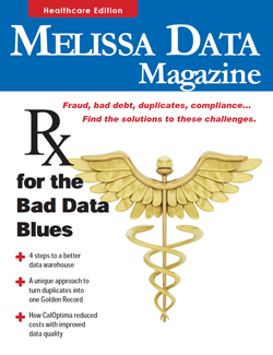 Catalog - Melissa Data Magazine – Healthcare