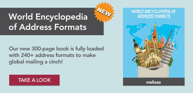 World Encyclopedia of Address Formats