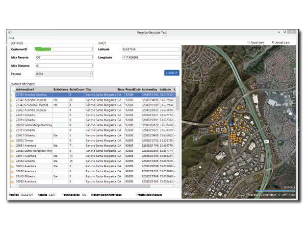 Geocoding & Location Intelligence - Reverse Geocoding