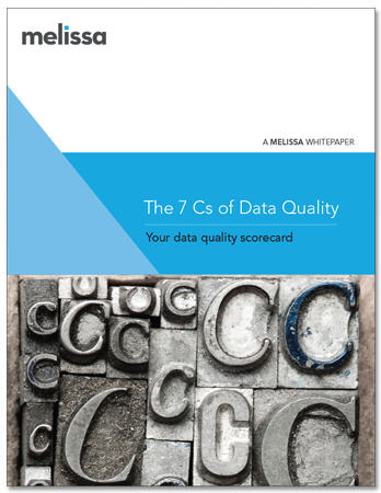 White Paper - The 7 Cs of Data Quality