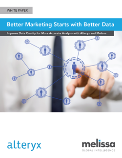 White Paper - Better Marketing Starts with Better Data