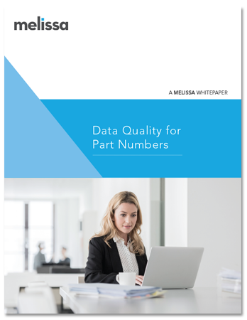 White Paper - Data Quality for Part Numbers